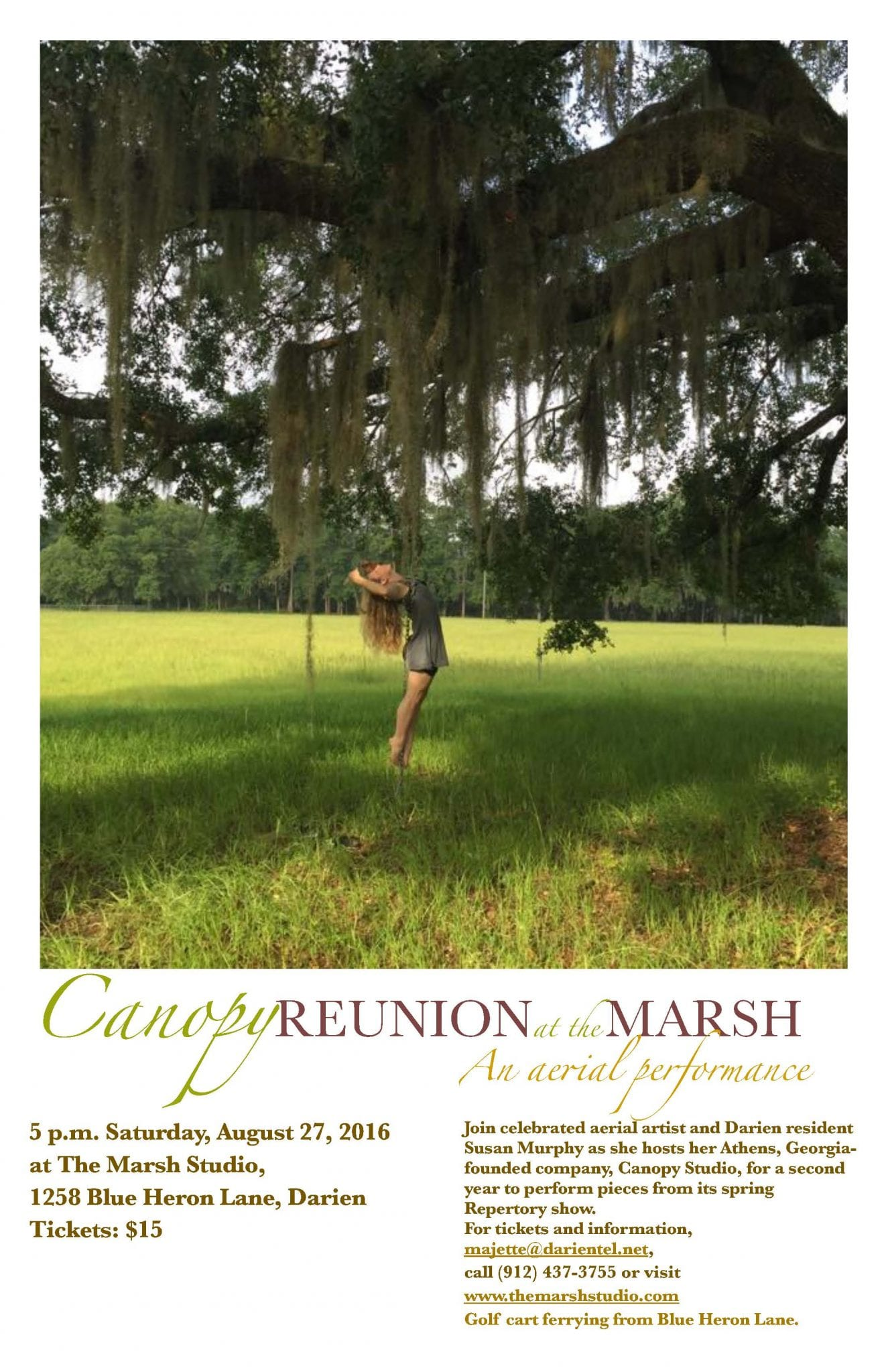 Canopy Reunion at the Marsh